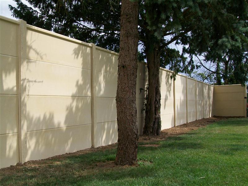 Montage de mur sur l 39 essonne 91 cl tures abreu clotures for Cloture mur beton